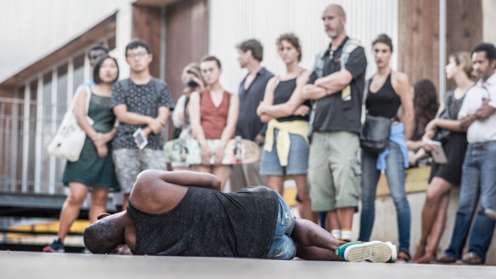 We wachten op de grens fotograaf Franck Martinet